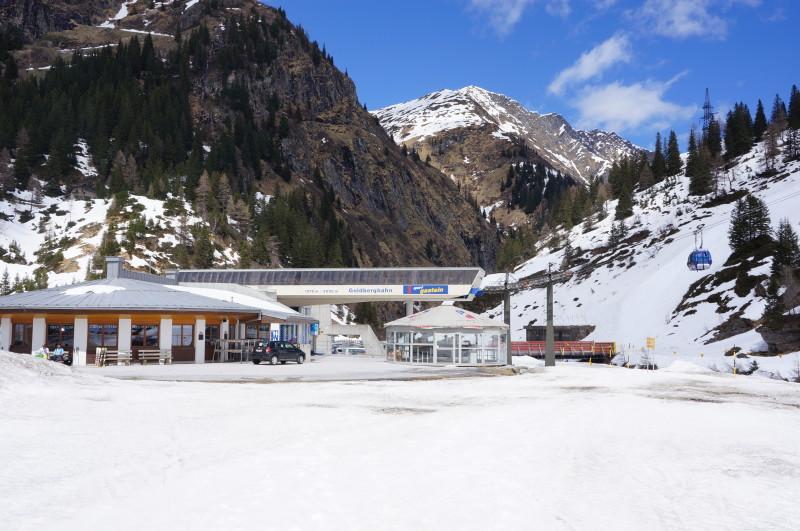 Snowboarding a freeride na Sportgasteinu
