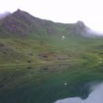 Jezero na vrcholu Schlossalm