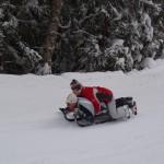 Aktivní dovolená v zimě - sáňkování
