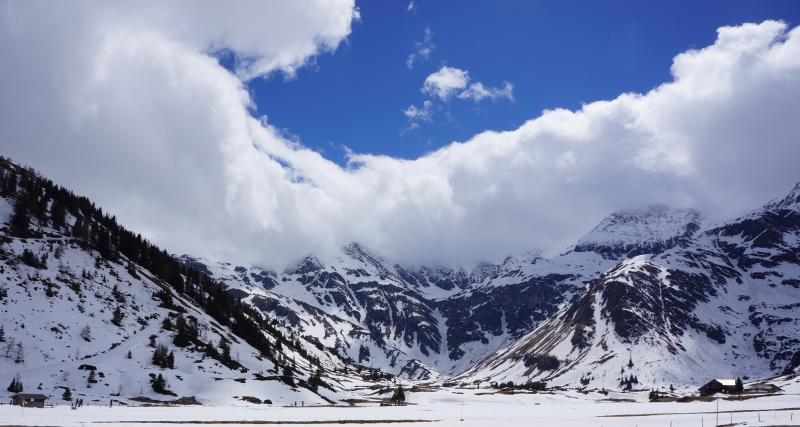 Sportgastein - téměř jako lyžování na ledovci