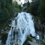 Vodopád v Bad Gasteinu