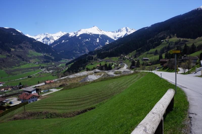 Ubytování v rakouských Alpách - letní dovolená, turistika a cyklistika.