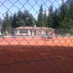 aktivní dovolená v zimě na tenisovém kurtě