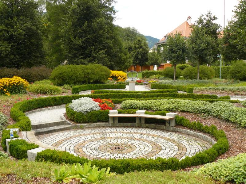 Lázeňský park Bad Hofgastein
