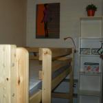 Pokoj s patrovou postelí