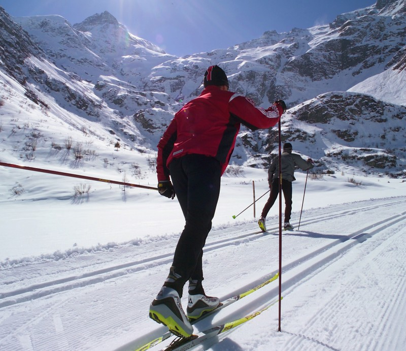 Běžky a běžkování v rakouských Alpách