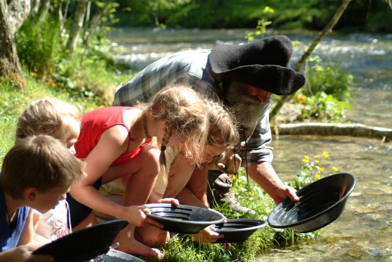 Rodinná dovolená s dětmi v rakouských Alpách
