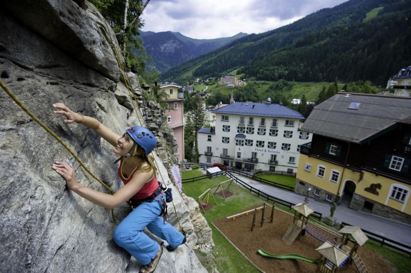 Horolezectví a lezení po skalách v rakouských Alpách - Gastein Tourismus