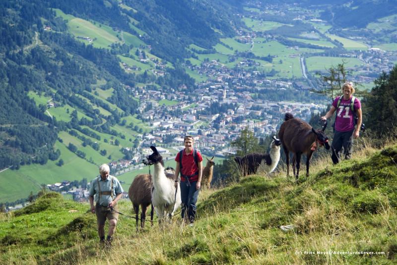 Letní aktivní dovolená v Gasteinu