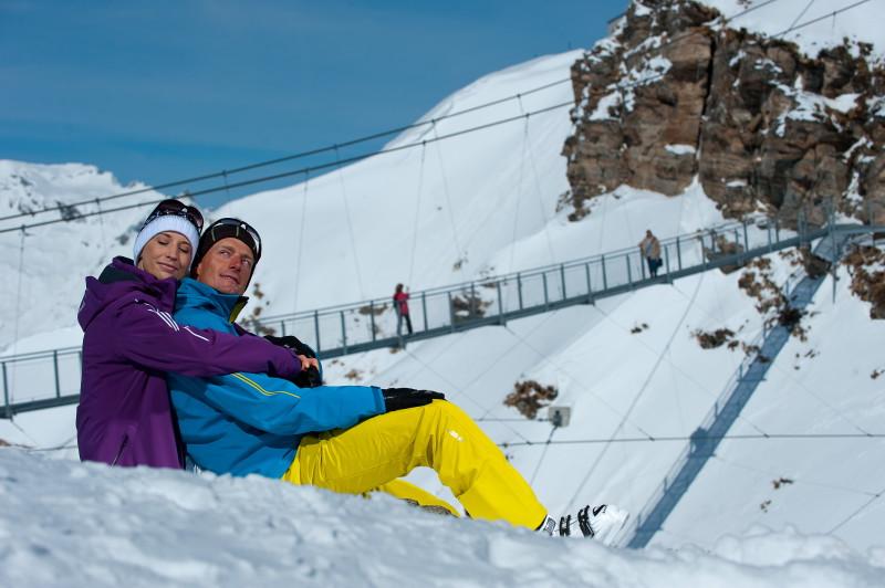 Zimní dovolená v rakouských Alpách