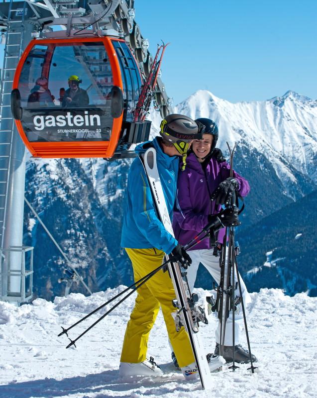 Lyžování v rakouských Alpách
