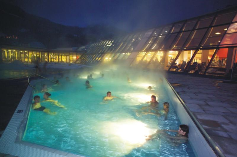 Termální lázně a wellness v Alpentherme