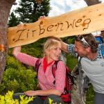 Borovicová stezka - výlet na dovolené s dětmi