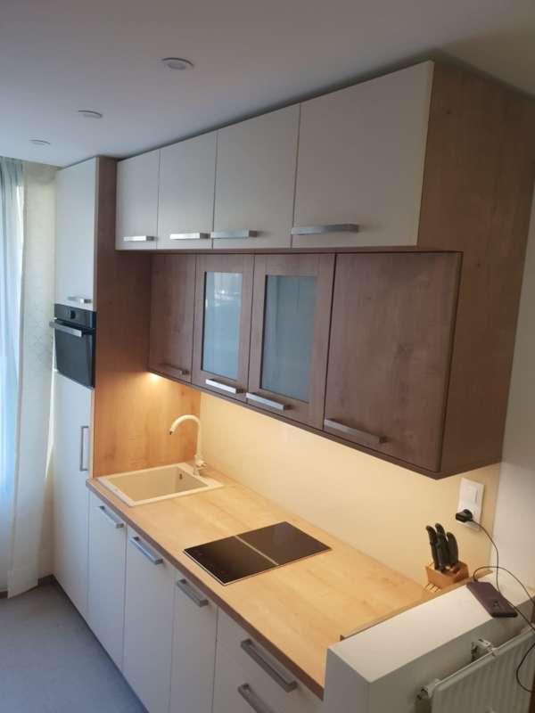 Nová kuchyň  s linkou - ubytování v rakouských Alpách